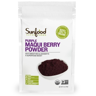 Sunfood, Purple Maqui Berry Powder, 4 oz (113 g) - iHerb.com