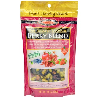 Seapoint Farms, Dry Roasted Edamame, Berry Blend, 3.5 oz (99 g) - iHerb.com