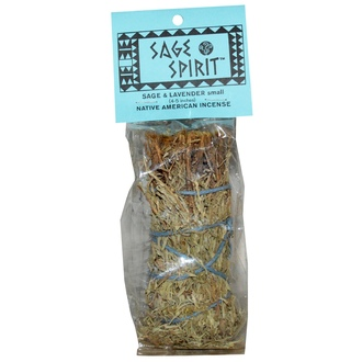 Sage Spirit, Native America Incense, Sage & Lavender, Small, 4-5 Inches - iHerb.com