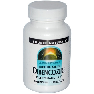 Source Naturals, Dibencozide, Coenzymated B-12, Sublingual, 120 Tablets - iHerb.com