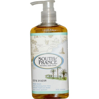 South of France, Cote D\' Azur, Hand Wash with Soothing Aloe Vera, 8 oz (236 ml) - iHerb.com