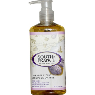South of France, Lavender Fields, Hand Wash with Soothing Aloe Vera, 8 oz (236 ml) - iHerb.com