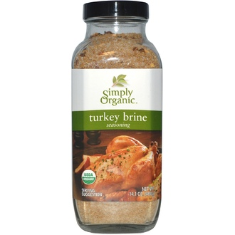 Simply Organic, Turkey Brine Seasoning, 14.1 oz (400 g) - iHerb.com
