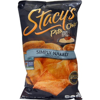Stacy\'s, Simply Naked Pita Chips, Nothing But Sea Salt, 7 1/3 oz (207.8 g) - iHerb.com