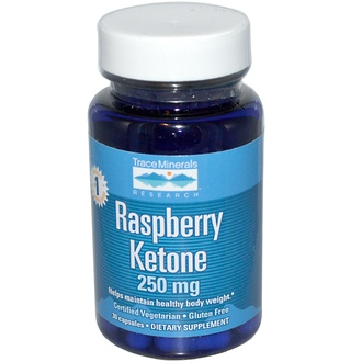 Trace Minerals Research, Raspberry Ketone, 250 mg, 30 Capsules - iHerb.com