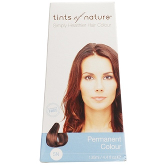Tints of Nature, Conditioning Permanent Hair Color, 5N Natural Light Brown, 4.4 fl oz. - iHerb.com