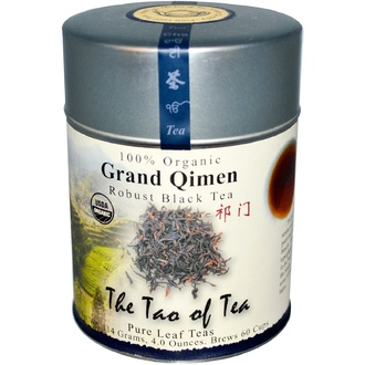 The Tao of Tea, Organic Grand Qimen, Robust Black Tea, 4 oz (114 g) - iHerb.com