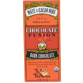 The Tea Room, Chocolate Fusion, Dark Chocolate, Mate & Cacao Nibs, 1.8 oz (51 g) - iHerb.com