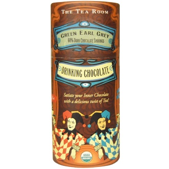 The Tea Room, Drinking Chocolate, Green Earl Grey, 5 oz (142 g) - iHerb.com