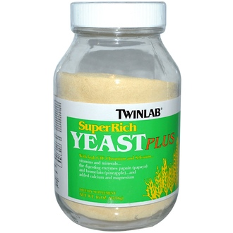 Twinlab, SuperRich Yeast Plus, 16 oz (453.6 g) Powder - iHerb.com