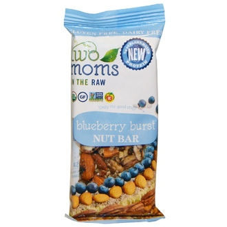Two Moms in the Raw, Blueberry Burst Bar, 100% Organic, 1.5 oz - iHerb.com