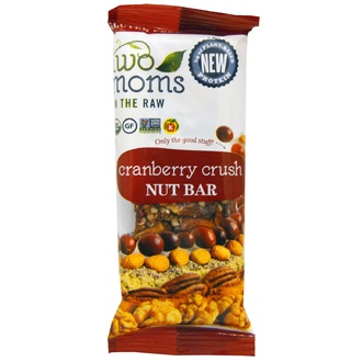 Two Moms in the Raw, Cranberry Crush Nut Bar, 100% Organic, 1.5 oz - iHerb.com