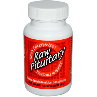 Ultra Glandular Enterprises, Raw Pituitary, 60 Easy-To-Swallow Tablets - iHerb.com