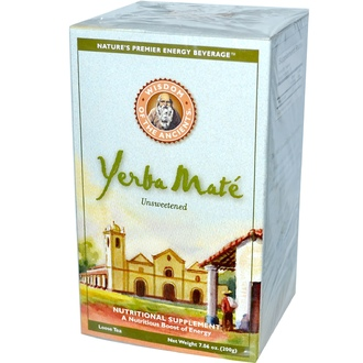 Wisdom Natural, Wisdom of the Ancients, Yerba Mate, Loose Tea, Unsweetened, 7.06 oz (200 g) - iHerb.com