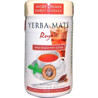 Wisdom Natural, Yerba Mate Royale, Sweetened with Stevia, Instant Tea, 2.82 oz (79.9 g) - iHerb.com