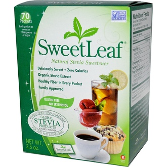 Wisdom Natural, Sweetleaf Sweetener 1Gm 70 Packet - iHerb.com