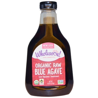 Wholesome Sweeteners, Inc., Organic Raw Blue Agave, 44 oz (1.25 kg) - iHerb.com