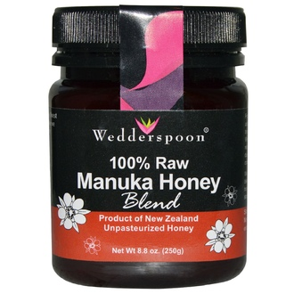 Wedderspoon Organic, Inc., 100% Raw Manuka Honey Blend, 8.8 oz (250 g) - iHerb.com