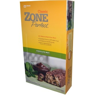 ZonePerfect, Classic, All-Natural Nutrition Bars, Chocolate Mint, 12 Bars, 1.76 oz (50 g) Each) - iHerb.com